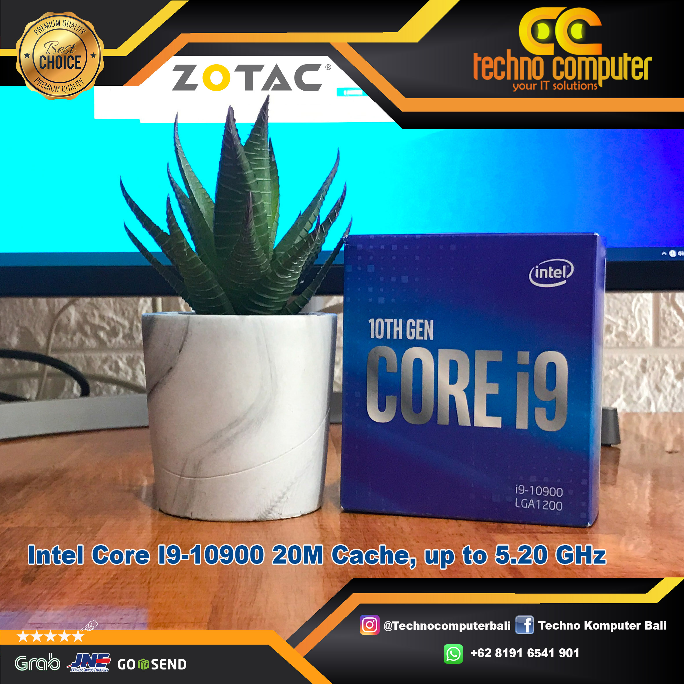 PROCESSOR INTEL CORE I9-10900 20M Cache, up to 5.20 GHz
