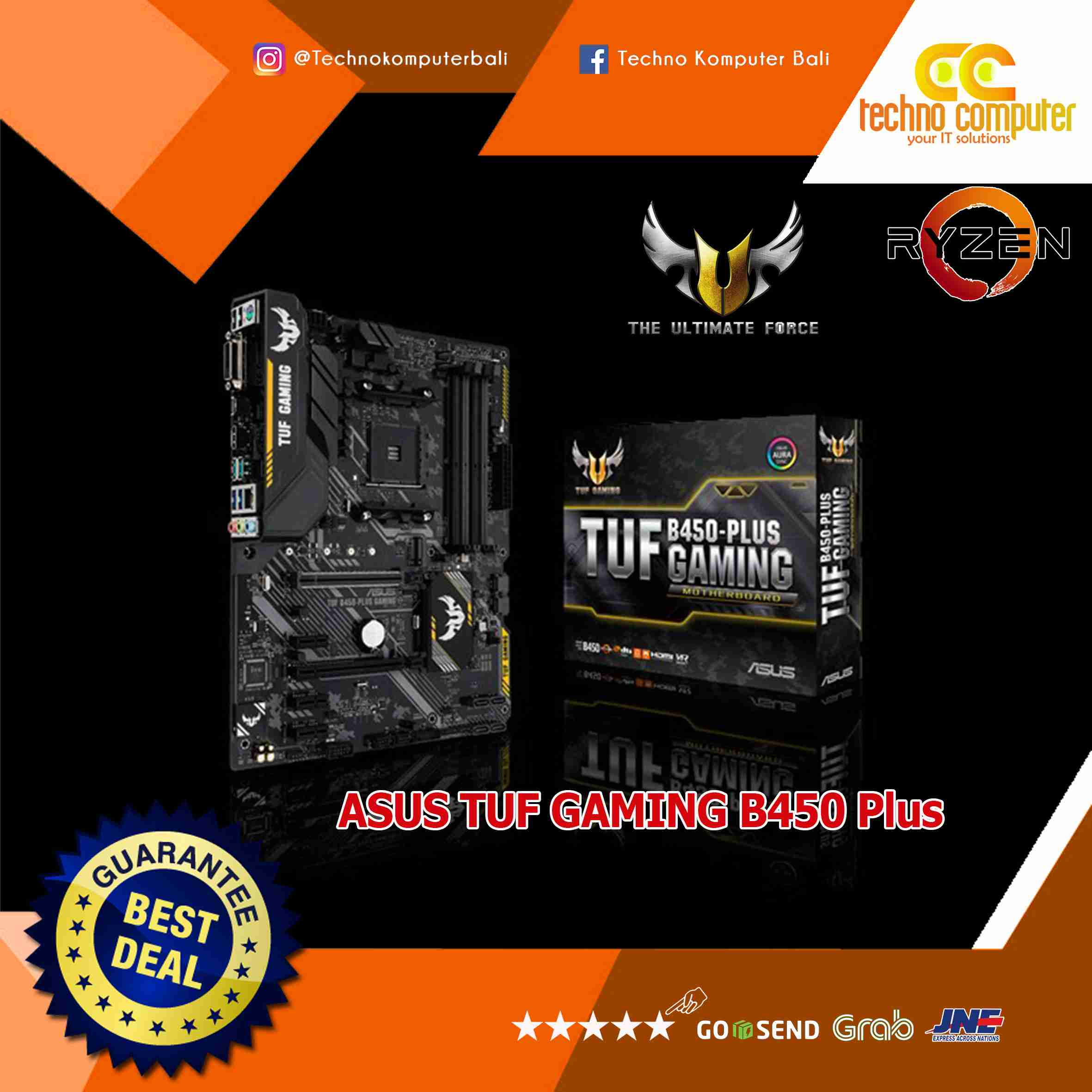 ASUS TUF B450 PLUS GAMING - AMD AM4