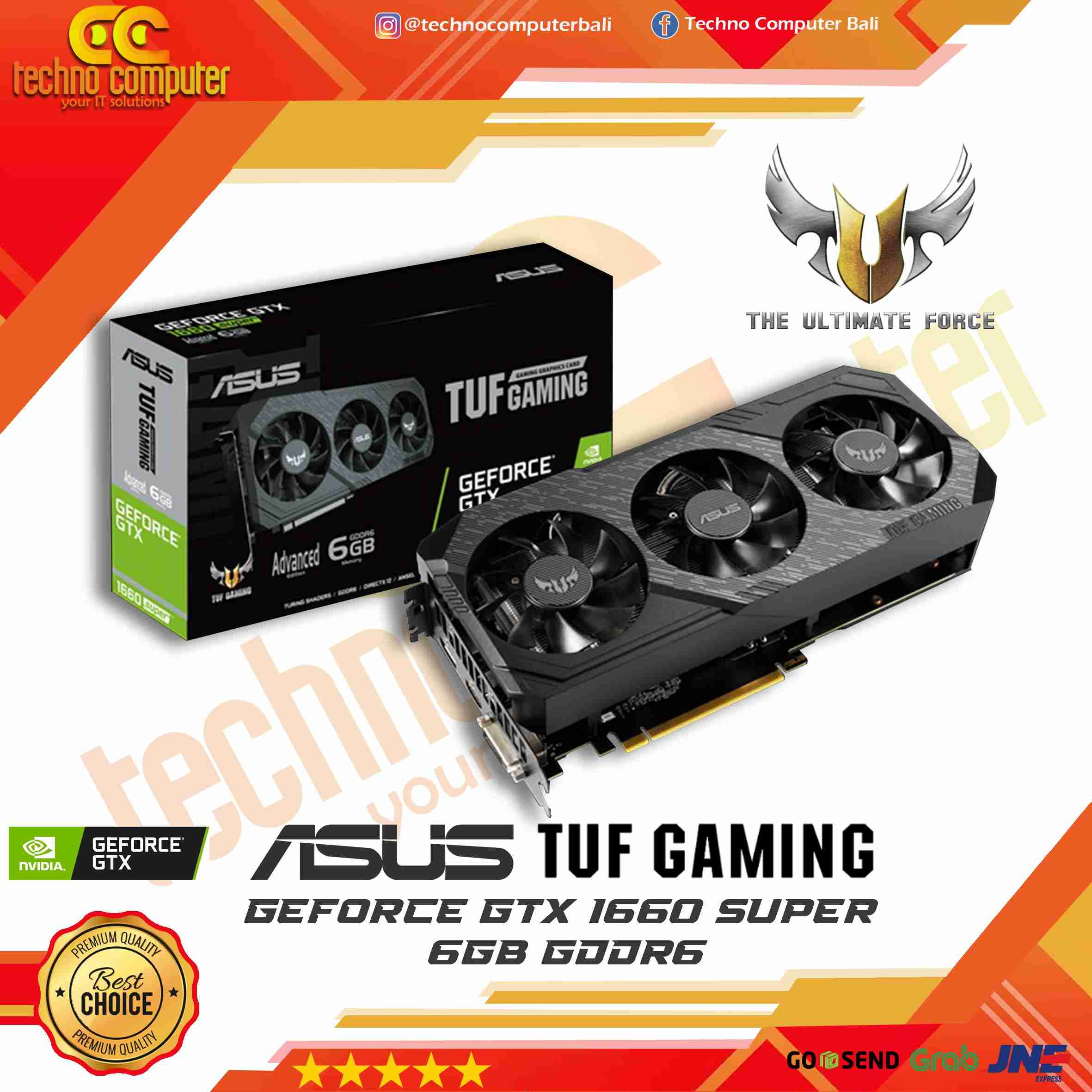 ASUS TUF GAMING GeForce GTX 1660 SUPER Advance 6GB