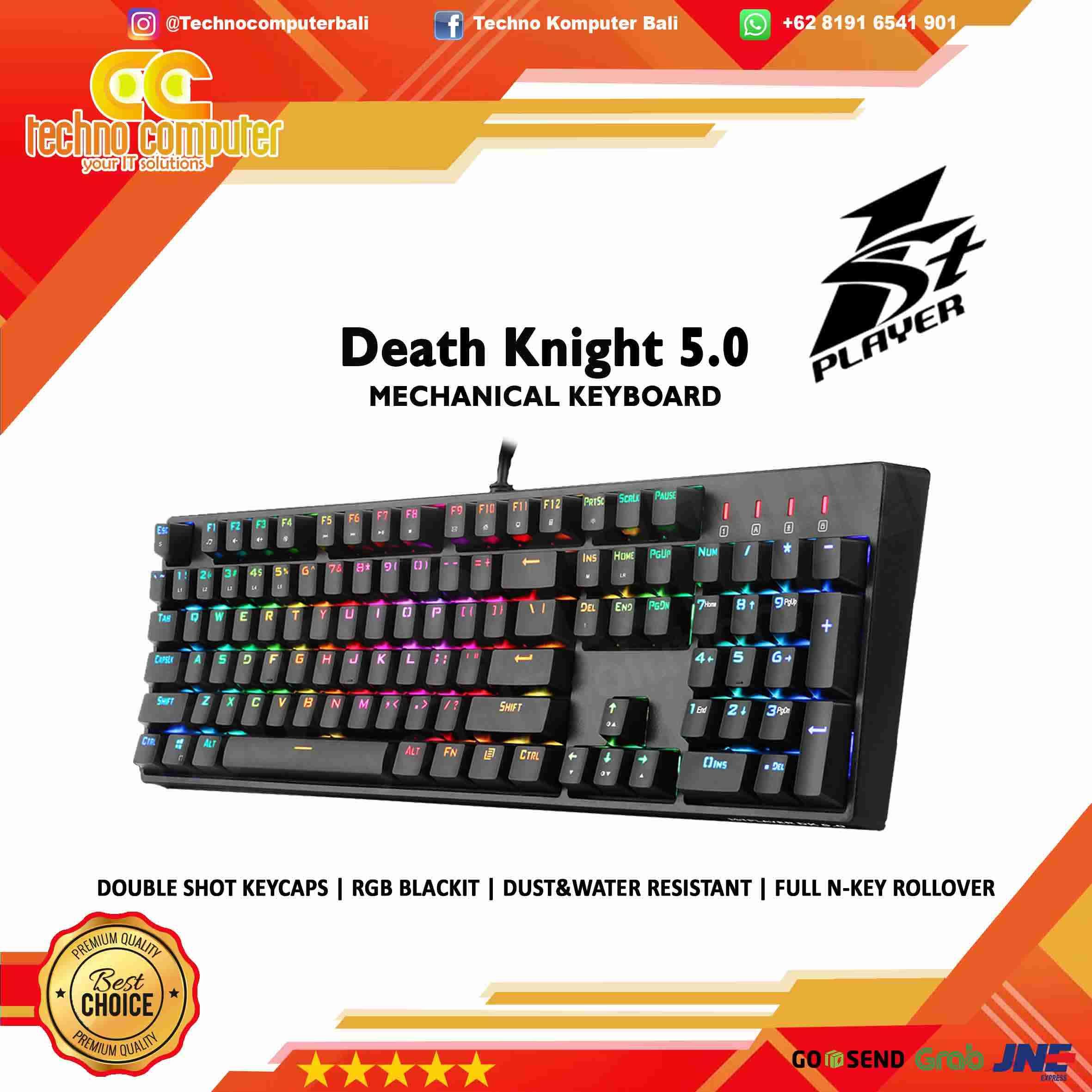 KEYBOARD GAMING 1STPLAYER DK 5.0 RGB - Mechanical
