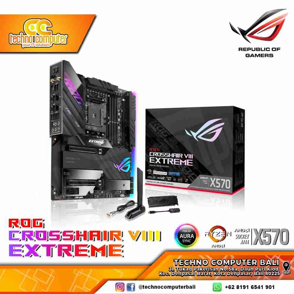 ASUS ROG CROSSHAIR VIII EXTREME AMD X570 E-ATX